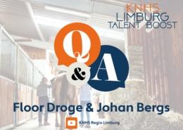 Johan en Floor - KNHS Limburg Talent Boost Q&A